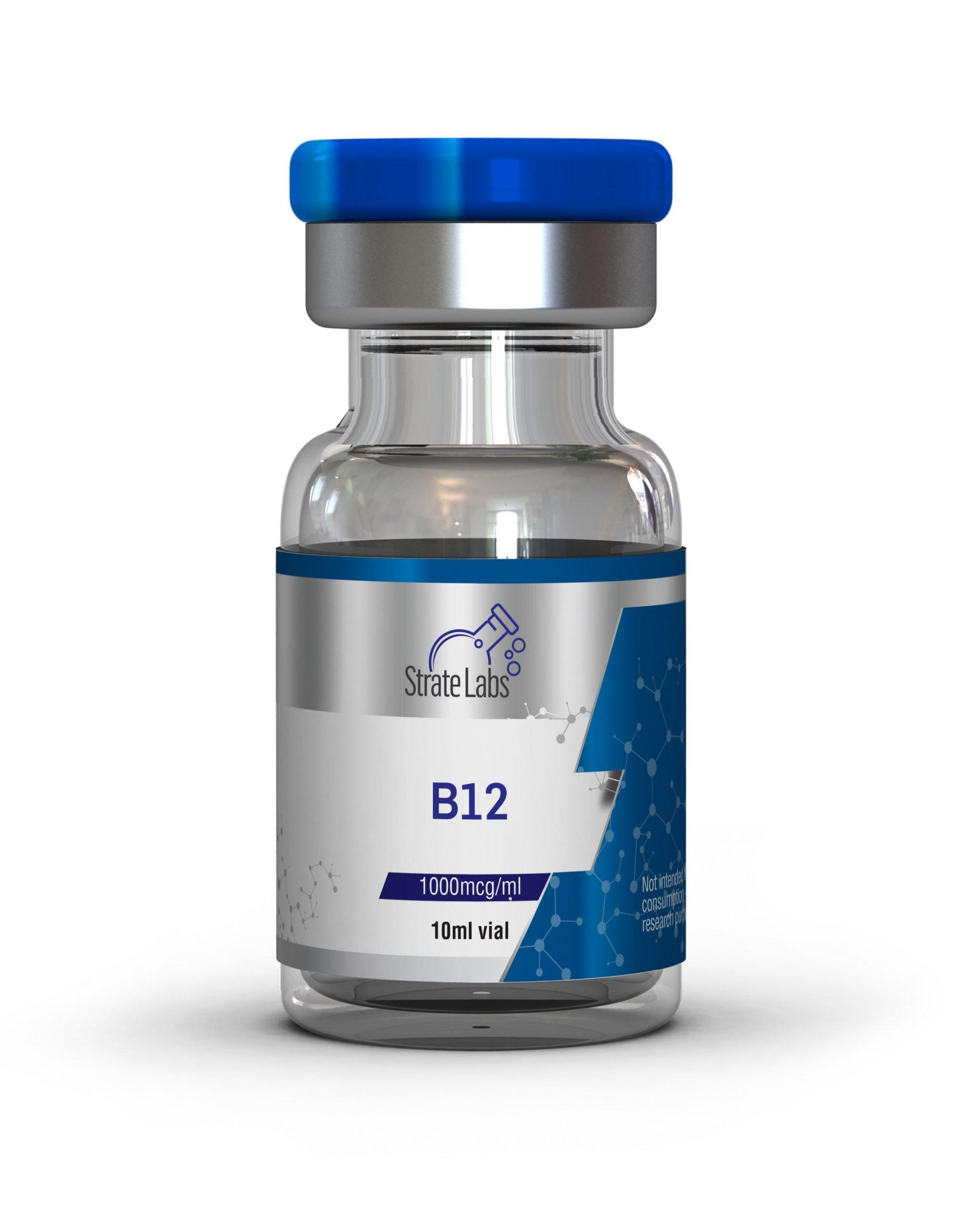 B12 | 1000mcg/ml - Strate Labs