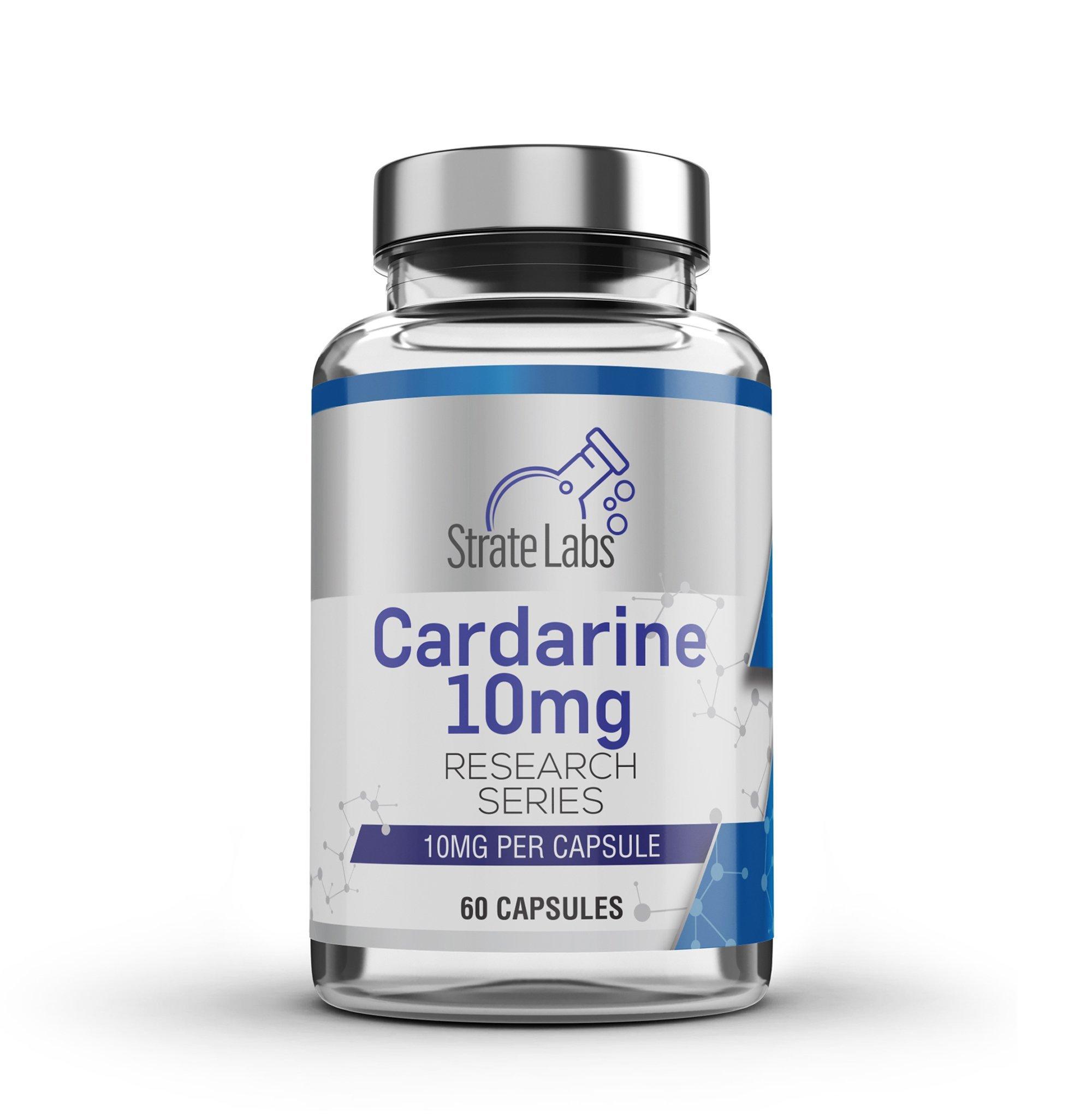 CARDARINE Capsules | 10mg x60 - Strate Labs